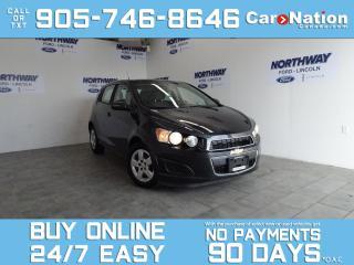 Used 2014 Chevrolet Sonic LS | HATCHBACK | 1 OWNER | ONLY 32 KMS! for sale in Brantford, ON