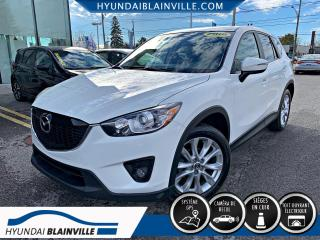 Used 2015 Mazda CX-5 GT AWD NAVIGATION, CUIR, TOIT, MAGS, BLU for sale in Blainville, QC