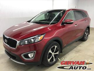 Used 2016 Kia Sorento EX+ V6 AWD 7 PASSAGERS CUIR TOIT PANORAMIQUE MAGS *Traction intégrale* for sale in Shawinigan, QC