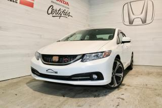 Used 2015 Honda Civic SI 4 Portes for sale in Blainville, QC