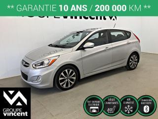 Used 2015 Hyundai Accent GLS TOIT MAGS ** GARANTIE 10 ANS ** Fiable, économique et à bas kilométrage! for sale in Shawinigan, QC