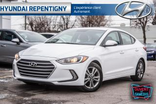 Used 2017 Hyundai Elantra GL 4 PORTES** SIEGES, VOLANT ET MIROIRS CHAUFFANT for sale in Repentigny, QC
