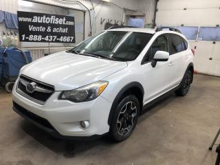 Used 2013 Subaru XV Crosstrek 5dr Man 2.0i w-Touring Pkg for sale in St-Raymond, QC