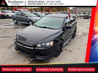 Used 2012 Mitsubishi Lancer SE**MAGS 17 NOIR**PNEUS HIVER SUR MAGS**AILERON**B for sale in Terrebonne, QC