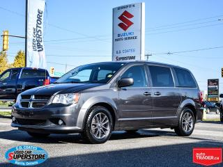 Used 2016 Dodge Grand Caravan SXT Premium Plus ~Nav ~DVD ~Rear Air ~Stow 'N Go for sale in Barrie, ON