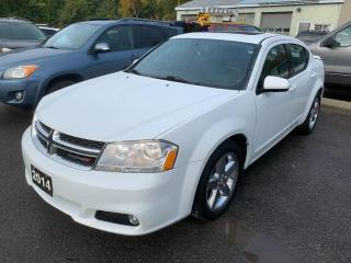 Used 2014 Dodge Avenger SXT for sale in Peterborough, ON