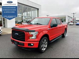 Used 2016 Ford F-150 Cabine Super 4RM 145 po XLT for sale in Victoriaville, QC