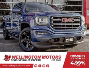 Used 2018 GMC Sierra 1500 Accident Free | 4X4 | Back-Up Cam !! for sale in Guelph, ON
