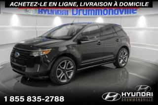 Used 2013 Ford Edge SPORT + GARANTIE + TOIT PANO + CUIR + WO for sale in Drummondville, QC