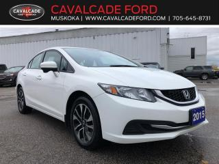 Used 2015 Honda Civic Sedan EX for sale in Bracebridge, ON