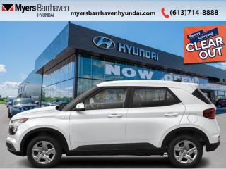 New 2021 Hyundai Venue Trend IVT  - Sunroof - $153 B/W for sale in Nepean, ON