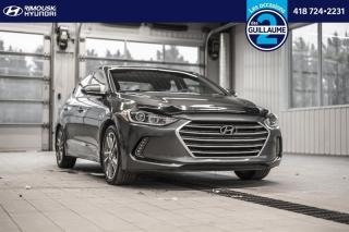 Used 2017 Hyundai Elantra GLS chez Rimouski Hyundai for sale in Rimouski, QC