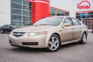 Used 2004 Acura TL CUIR ,TOIT-OUVRANT ,MAG ETC... S2767B TQ BEIGE for sale in Terrebonne, QC