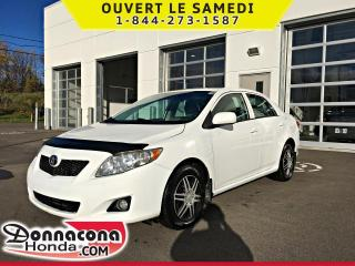 Used 2010 Toyota Corolla CE *JAMAIS ACCIDENTE* for sale in Donnacona, QC