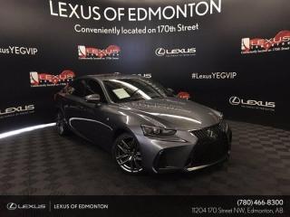 Used 2018 Lexus IS 350 F Sport Series 2 for sale in Edmonton, AB