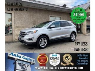 Used 2018 Ford Edge SEL* Awd/Htd lthr/Nav/Roof for sale in Winnipeg, MB