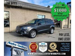 Used 2018 Ford Escape SE* LOW KMS/AWD/Bluetooth/Navigation/HEATED SEATS for sale in Winnipeg, MB