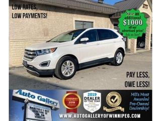 Used 2018 Ford Edge SEL* Awd/Htd lthr/Nav/Pano for sale in Winnipeg, MB