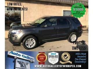 Used 2018 Ford Explorer XLT* 4wd/B.cam/7 pass for sale in Winnipeg, MB