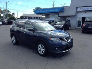 Used 2016 Nissan Rogue SV TECH PKG, PANOROOF, HEATED PWR SEAT, BACKUP CAM!! for sale in North Bay, ON