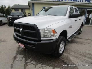 Used 2014 Dodge Ram 2500 3/4 TON ST-EDITION 6 PASSENGER 6.7L - CUMMINS TURBO DIESEL.. 4X4.. CREW-CAB.. SHORTY.. TOW SUPPORT.. AUX/USB INPUT.. for sale in Bradford, ON