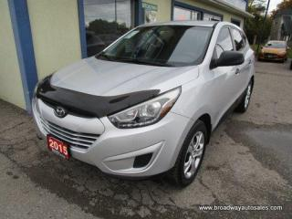 Used 2015 Hyundai Tucson WELL EQUIPPED GLS EDITION 5 PASSENGER 2.0L - DOHC.. HEATED SEATS.. CD/AUX/USB INPUT.. KEYLESS ENTRY.. BLUETOOTH SYSTEM.. for sale in Bradford, ON
