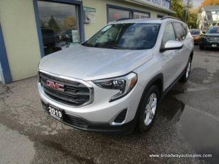Used 2019 GMC Terrain ALL-WHEEL DRIVE SLE EDITION 5 PASSENGER 1.4L - TURBO.. HEATED SEATS.. BACK-UP CAMERA.. BLUETOOTH SYSTEM.. KEYLESS ENTRY & START.. for sale in Bradford, ON