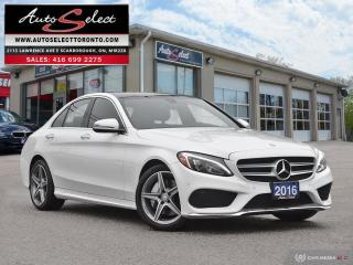 Used 2016 Mercedes-Benz C-Class 4Matic C300 AWD ONLY 71K! **AMG SPORT PKG** CLN CARPROOF for sale in Scarborough, ON