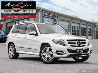 Used 2015 Mercedes-Benz GLK-Class 4Matic GLK250 AWD BLUETEC ONLY 125K! **TECH PKG** CLN CP for sale in Scarborough, ON