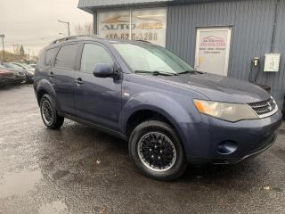 Used 2007 Mitsubishi Outlander ***LS,AUTOMATIQUE,A/C,BAS KILO*** for sale in Longueuil, QC