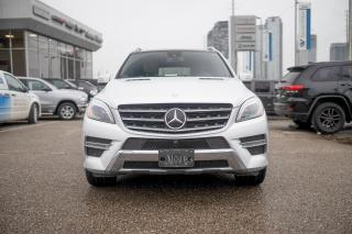 Used 2015 Mercedes-Benz ML-Class ML 350 BlueTEC 4MATIC NAVI/DIESEL/SUNROOF for sale in Concord, ON