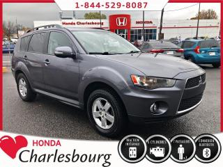 Used 2010 Mitsubishi Outlander LS V6 AWD **7 PASSAGERS** for sale in Charlesbourg, QC