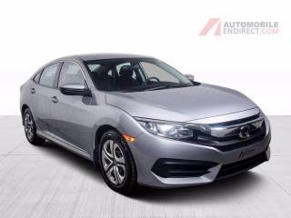 Used 2016 Honda Civic LX A/C CAMERA DE RECUL for sale in St-Hubert, QC