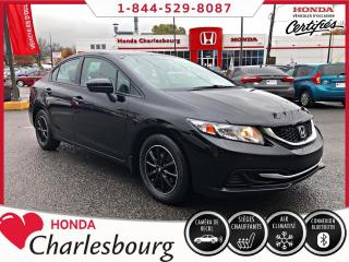 Used 2015 Honda Civic LX **AUTOMATIQUE**0 ACCIDENT** for sale in Charlesbourg, QC