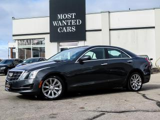 Used 2017 Cadillac ATS AWD|BOSE|REAR CAMERA|TOUCHSCREEN|HEATED SEATS|ALLOYS|NO ACCIDENTS for sale in Kitchener, ON