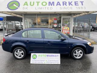 Used 2008 Pontiac G5 LIKE NEW! NEW TRANS. NEW BRAKES NEW TIRES! IN HOUSE FINANCE IT for sale in Langley, BC