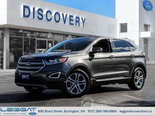 Used 2017 Ford Edge Titanium - AWD for sale in Burlington, ON