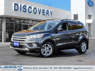 Used 2018 Ford Escape SE - FWD for sale in Burlington, ON