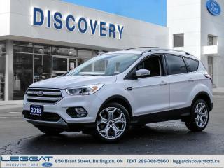 Used 2018 Ford Escape Titanium - 4WD for sale in Burlington, ON