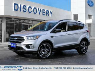 Used 2019 Ford Escape SEL - 4WD for sale in Burlington, ON