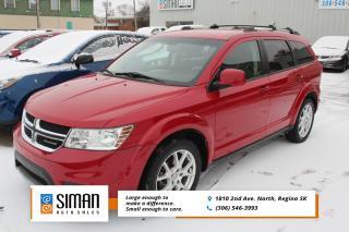 Used 2012 Dodge Journey SXT & Crew EXCELLENT VALUE for sale in Regina, SK