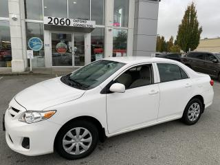 Used 2013 Toyota Corolla CE for sale in Port Coquitlam, BC