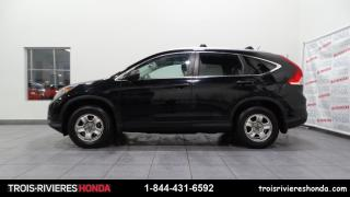 Used 2013 Honda CR-V LX + 2WD + CAMERA RECUL + BLUETOOTH ! for sale in Trois-Rivières, QC