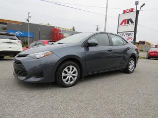 Used 2017 Toyota Corolla AUTO A/C ADAPTIVE CRUISE LANE ASSIST 43,000KM for sale in St-Eustache, QC