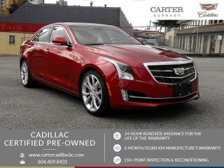 Used 2018 Cadillac ATS 3.6L Premium Luxury ONE OWNER! - NO ACCIDENTS - Navigation - Sunroof for sale in Burnaby, BC