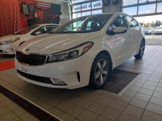 Used 2018 Kia Forte *LX+*CAMÉRA*SIÈGE CHAUFFANT* for sale in Québec, QC