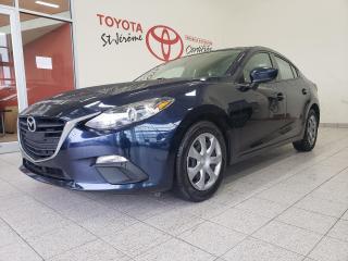 Used 2016 Mazda MAZDA3 * 53 000 KM * VITRES ET PORTE ÉLECTRIQUE * for sale in Mirabel, QC