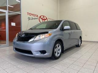 Used 2013 Toyota Sienna * LE 8 PASSAGERS * CAMÉRA * TRÈS PROPRE * for sale in Mirabel, QC