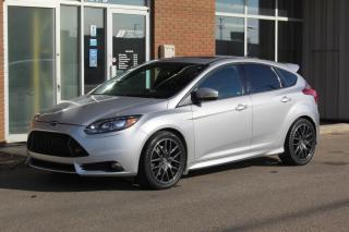 Used 2013 Ford Focus ST ST - LEATHER RECAROS - EXTREMELY LOW KM - MOONROOF for sale in Saskatoon, SK