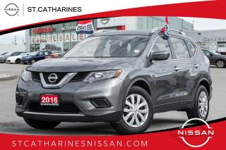 Used 2016 Nissan Rogue S 1Owner Lease Return | Accident Free for sale in St. Catharines, ON